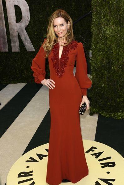 Leslie Mann at the 2013 Vanity Fair Oscar Party