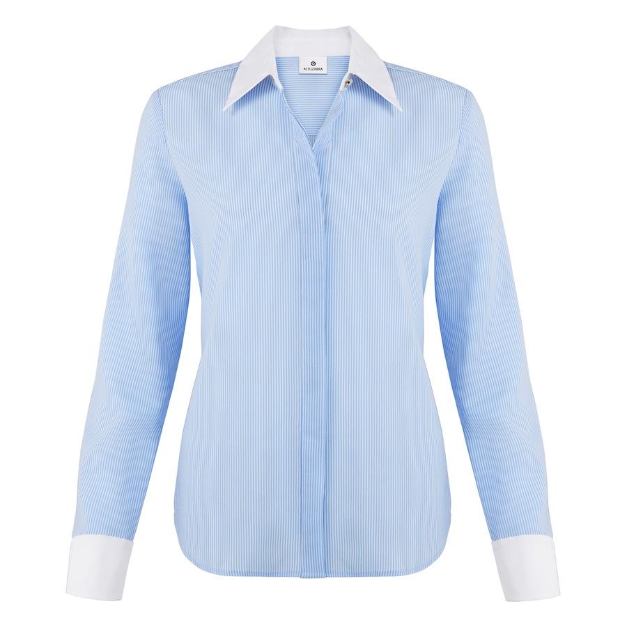 Oxford Shirt In Banker Stripe