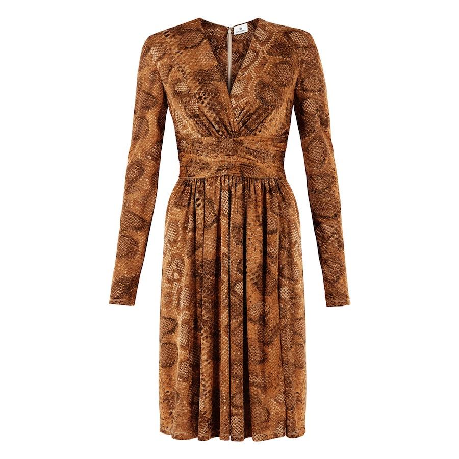 Wrap Dress In python Print