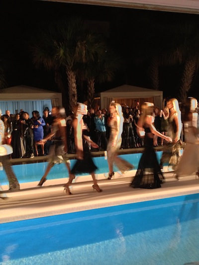 Roberto Cavalli and Saks Fifth Avenue Fashion Show