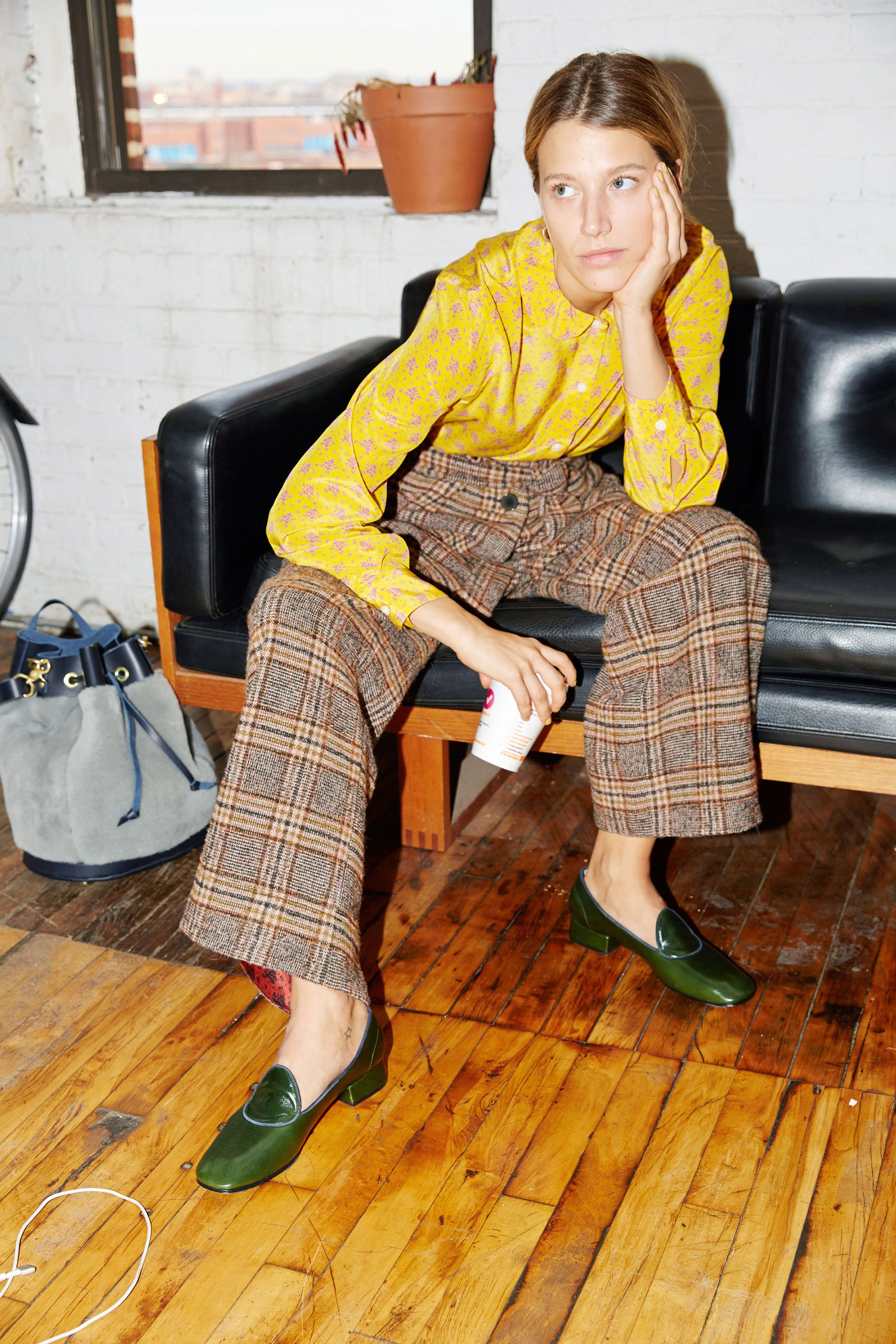 Image result for  plaid fall 2017