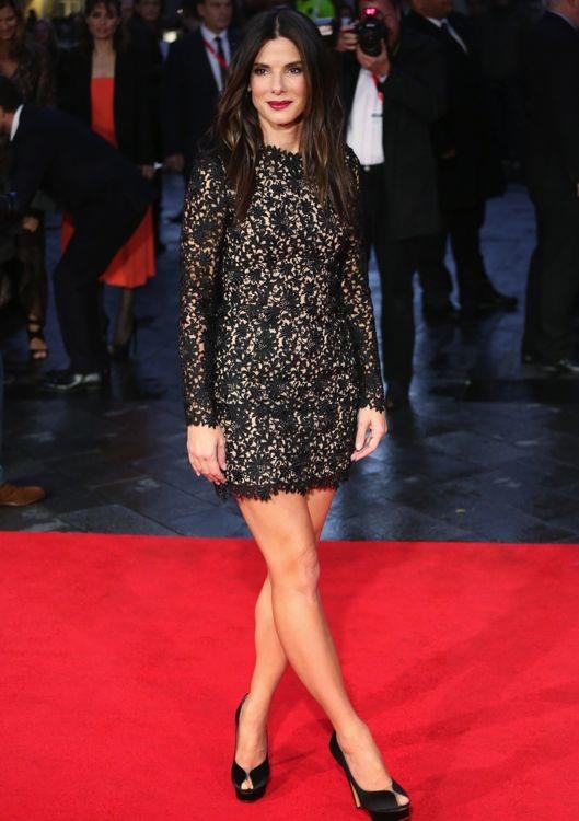 Sandra Bullock at the 57th BFI London Film Festival Premiere of Gravity