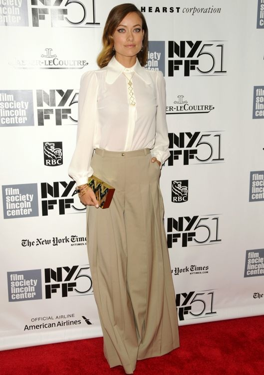 Olivia Wilde at the 51st New York Film Festival Closing Night Gala and Premiere of Her