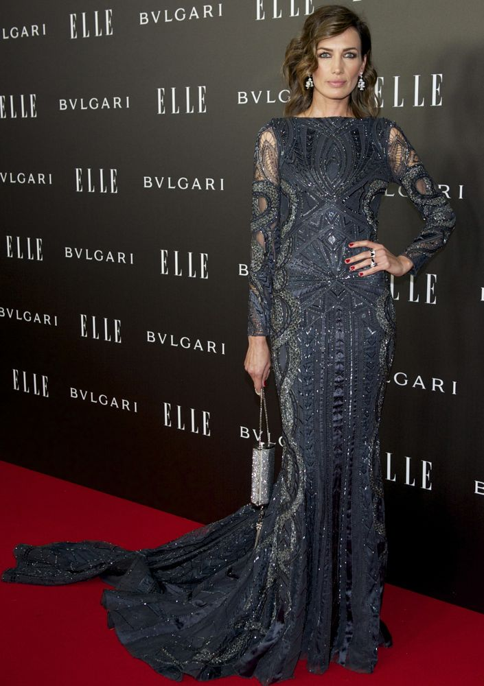 Nieves Alvarez at the ELLE Style Awards 2014