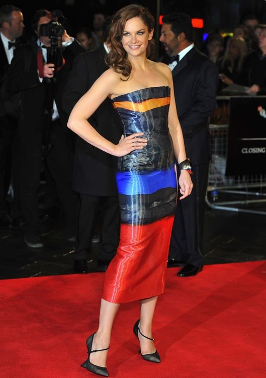 Ruth Wilson at the 57th BFI London Film Festival Premiere of Saving Mr. Banks and Closing Night Gala