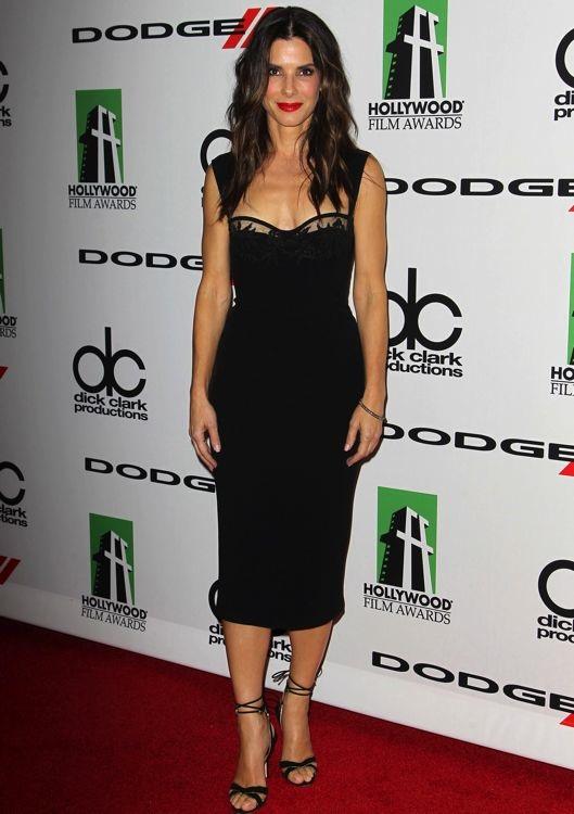 Sandra Bullock at the 17th Annual Hollywood Film Awards