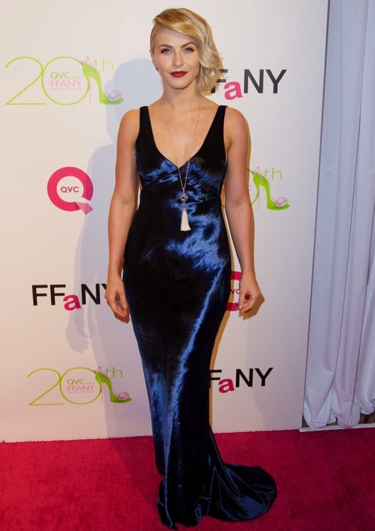 Julianne Hough at QVC Presents FFANY Shoes on Sale Gala