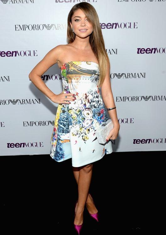 Sarah Hyland at the 2013 Teen Vogue Young Hollywood Party