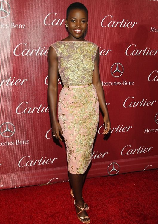 Lupita Nyong'o at the 2014 Palm Springs International Film Festival Awards Gala