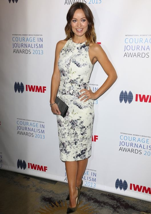 Olivia Wilde at the 2013 Courage in Journalism Awards