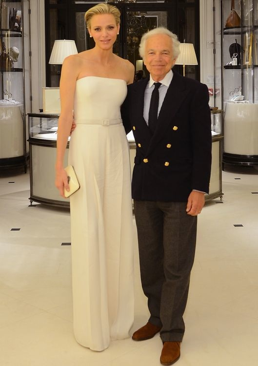 Princess Charlene of Monaco at Ralph Lauren's Special Screening of To Catch a Thief