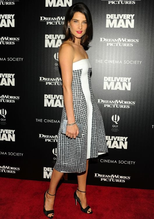 Cobie Smulders at the New York Screening of Delivery Man