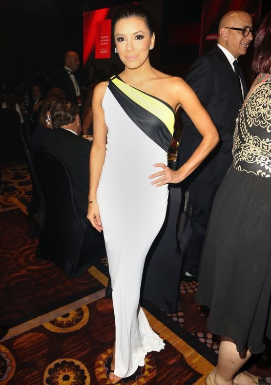 Eva Longoria at the 2013 Latin Recording Academy Person of the Year Gala Honoring Miguel Bosé