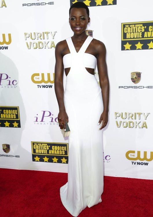 Lupita Nyong'o at the 19th Annual Critics' Choice Movie Awards
