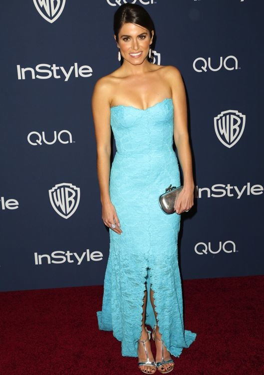 Nikki Reed at the 2014 InStyle and Warner Bros. Golden Globes After-Party