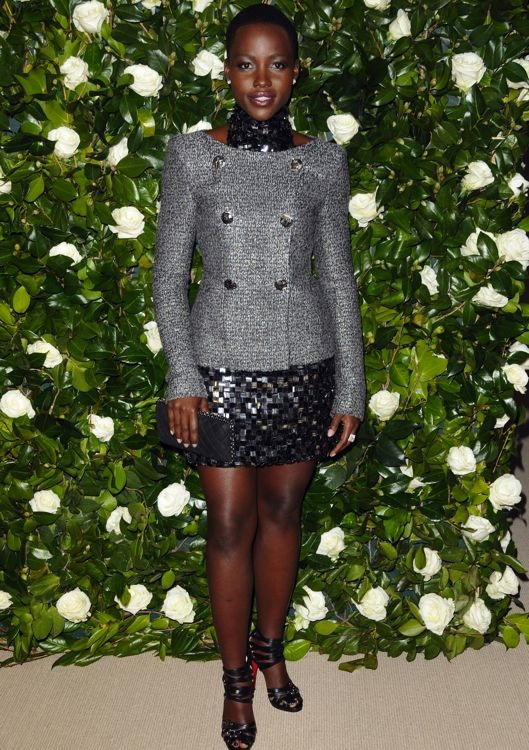 Lupita Nyong'o at the Museum of Modern Art 2013 Film Benefit: A Tribute to Tilda Swinton