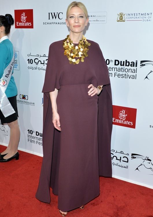 Cate Blanchett at the 10th Annual Dubai International Film Festival Opening Night Gala