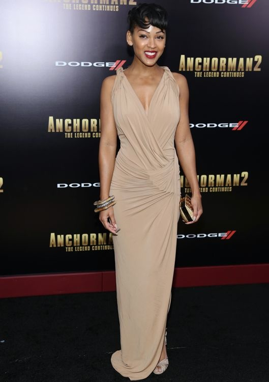 Meagan Good at the New York Premiere of Anchorman 2: The Legend Continues
