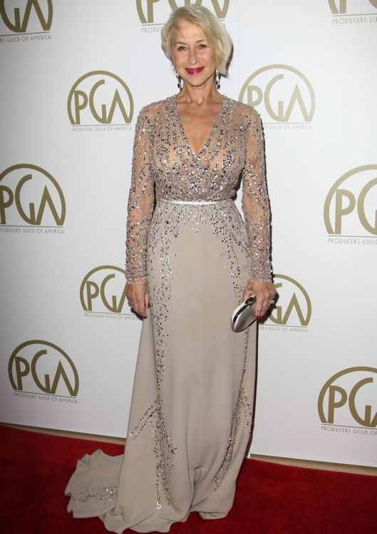 Helen Mirren at the 2014 Producers Guild Awards