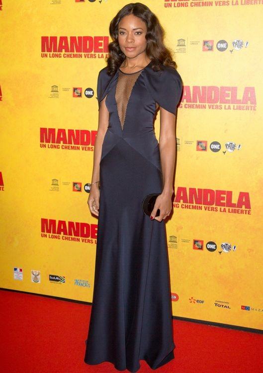 Naomie Harris at the Paris Premiere of Mandela: Long Walk to Freedom