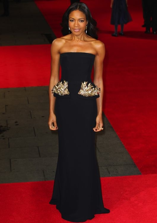 Naomie Harris at the Royal Premiere of Mandela: Long Walk to Freedom