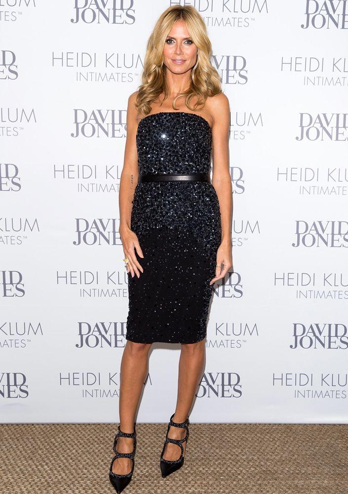 Heidi Klum Launching Heidi Klum Intimates at David Jones
