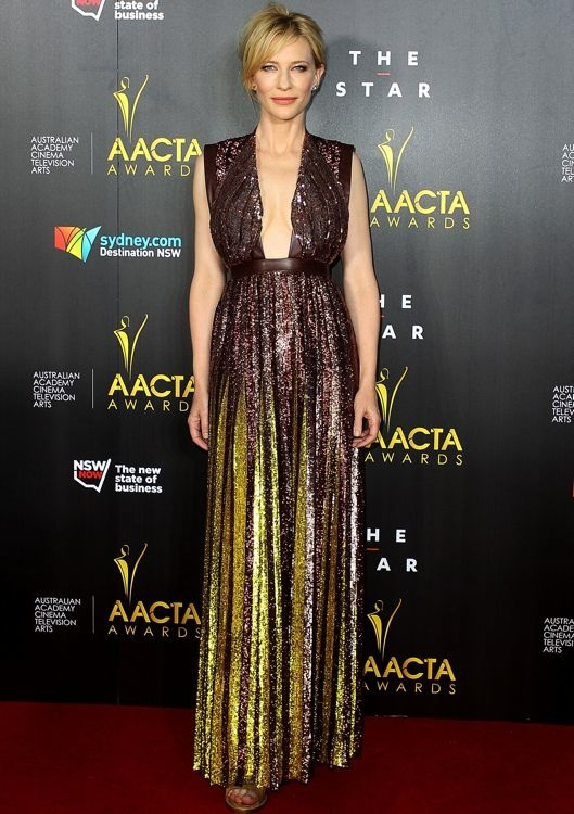Cate Blanchett at the 3rd Annual AACTA Awards Ceremony