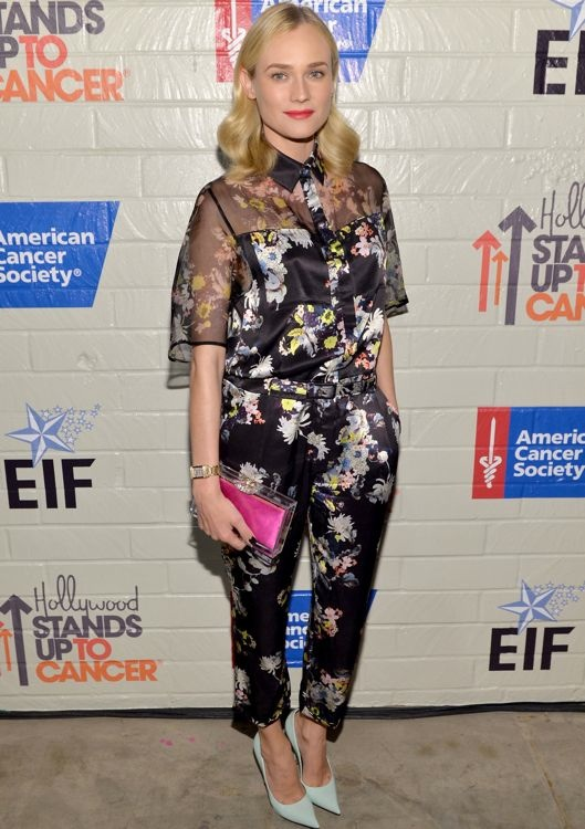 Diane Kruger at the Hollywood Stands Up To Cancer Event