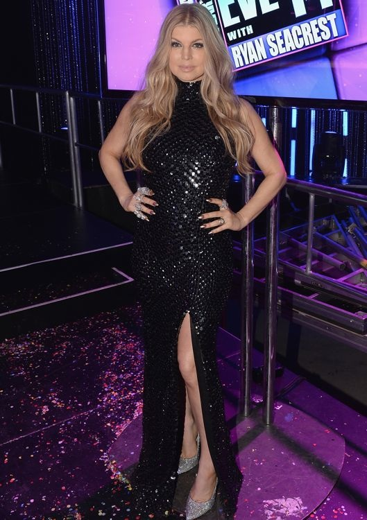 Fergie Hosting the West Coast Edition of Dick Clark's New Year's Rockin' Eve with Ryan Seacrest 2014