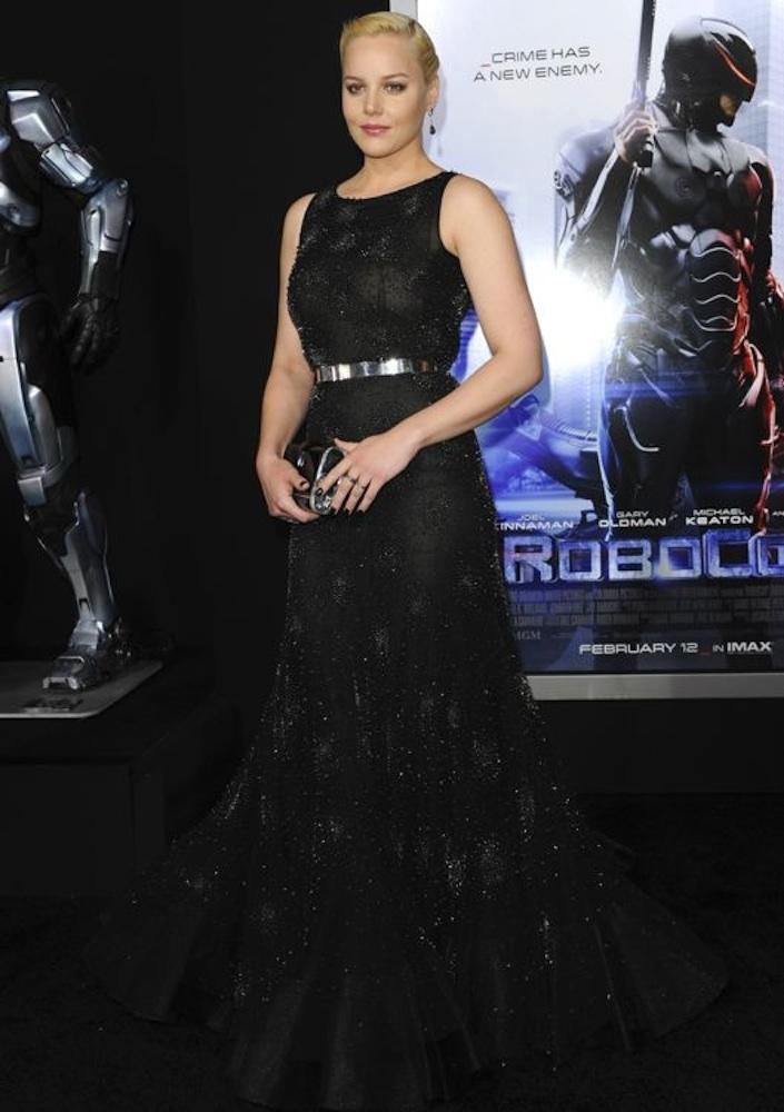 Abbie Cornish at the Los Angeles Premiere of RoboCop