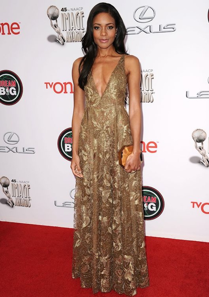 Naomie Harris at the 45th NAACP Image Awards
