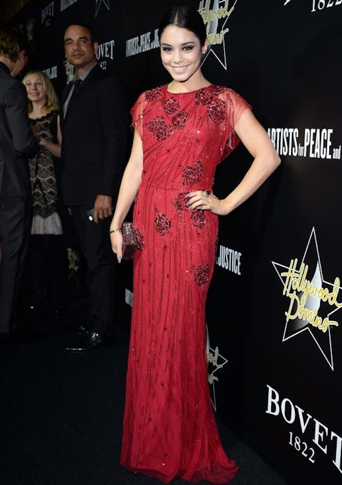 Vanessa Hudgens at the 7th Annual Hollywood Domino and Bovet 1822 Gala