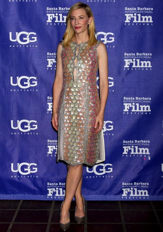 Cate Blanchett at the 29th Santa Barbara International Film Festival