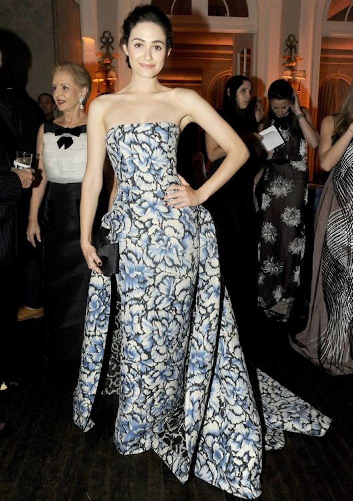 Emmy Rossum at the Art Production Fund's White Glove Gone Wild Gala