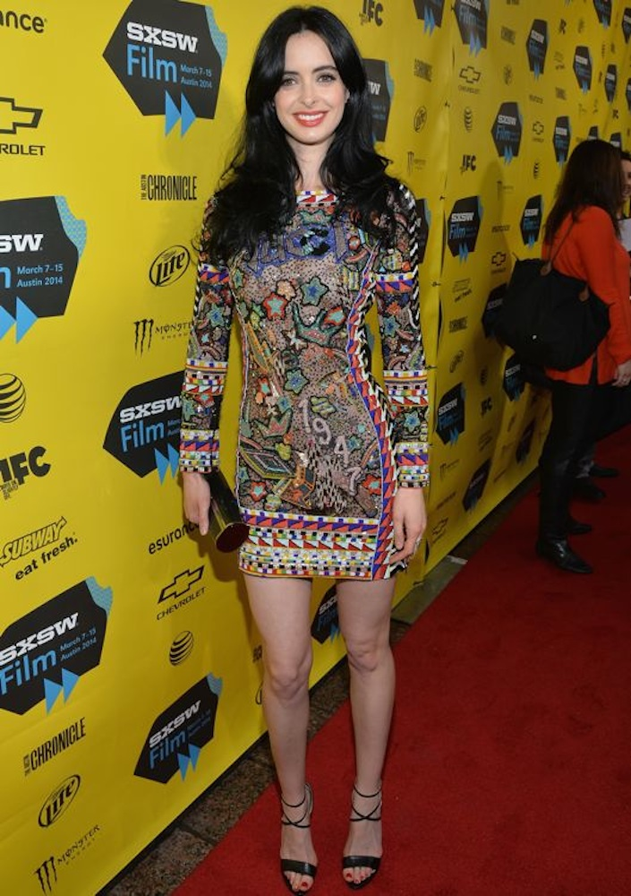 Krysten Ritter at the 2014 SXSW Music, Film + Interactive Festival Premiere of Veronica Mars