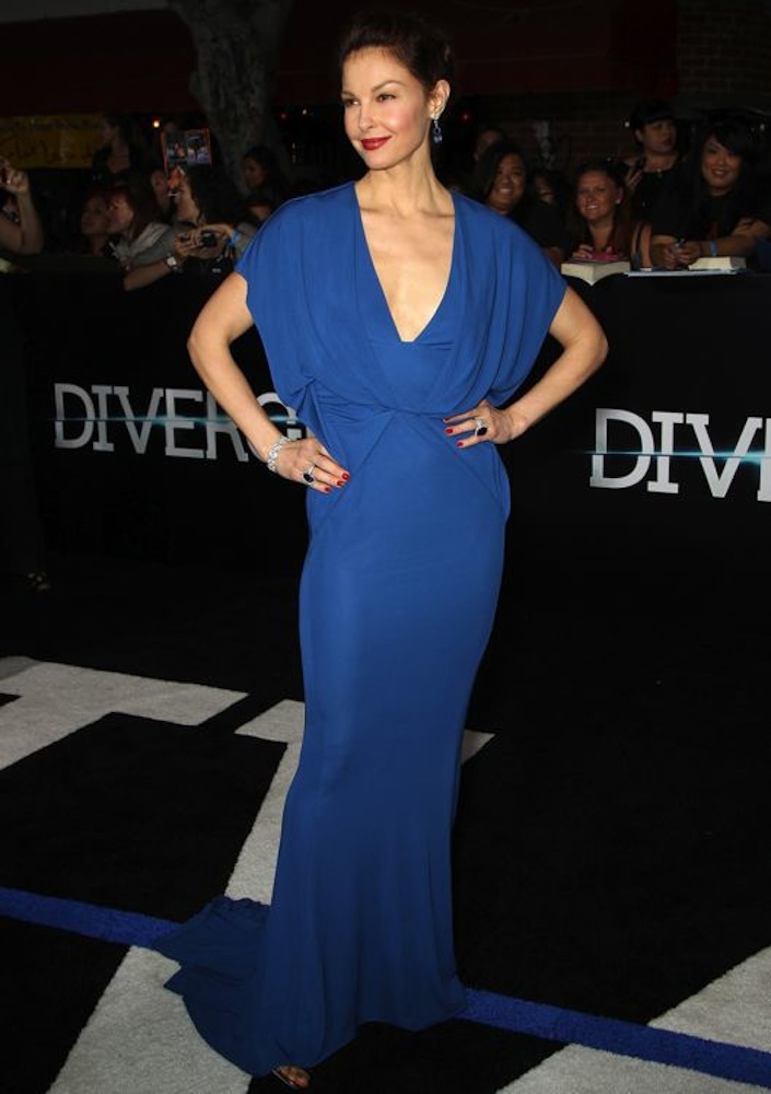 Ashley Judd at the Los Angeles Premiere of Divergent