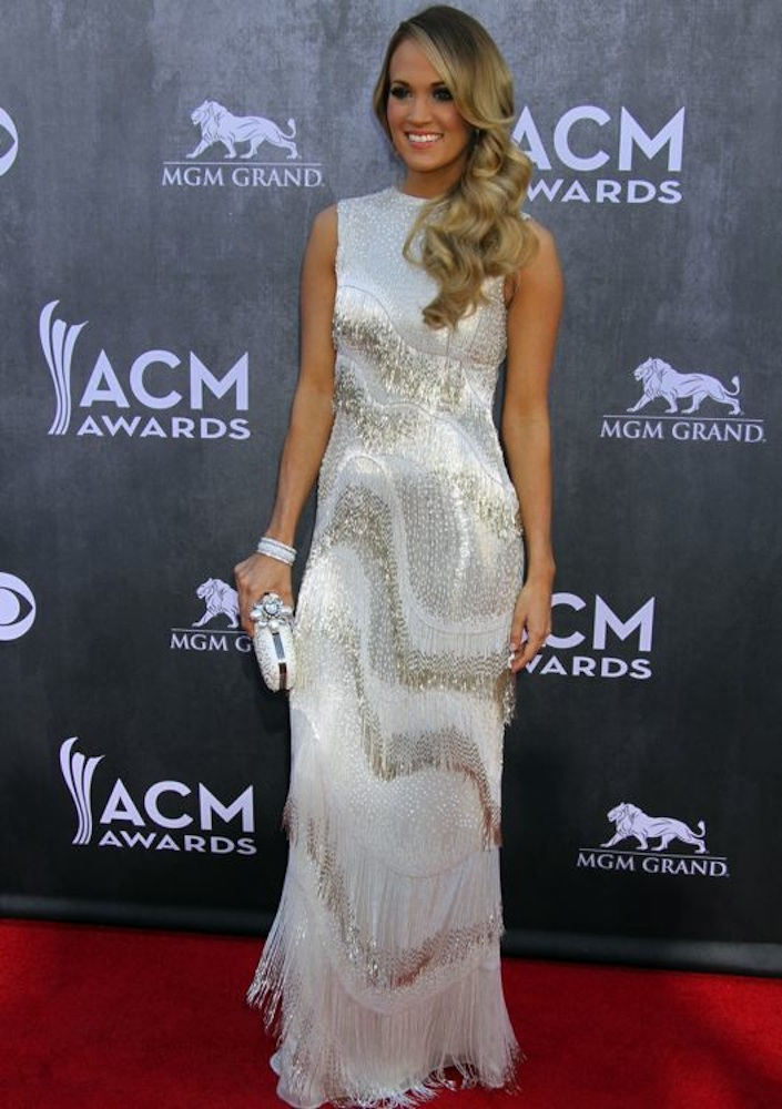 Carrie Underwood at the 49th Annual Academy of Country Music Awards