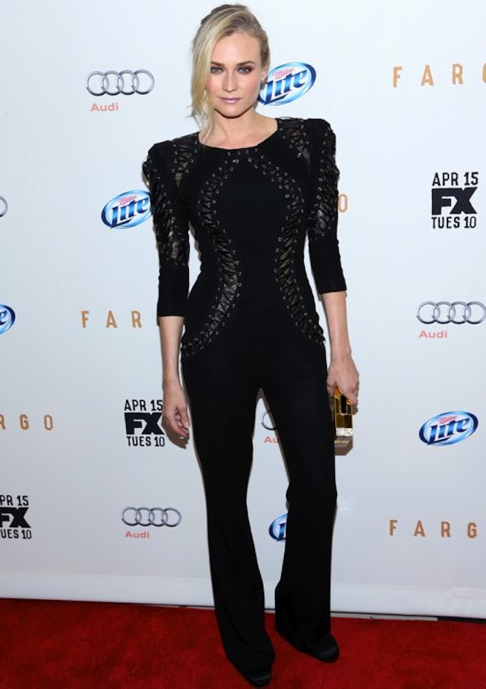 Diane Kruger at the FX Networks Upfront Screening of Fargo