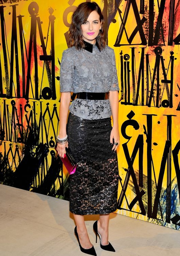 Camilla Belle at the CHOO.08° Launch