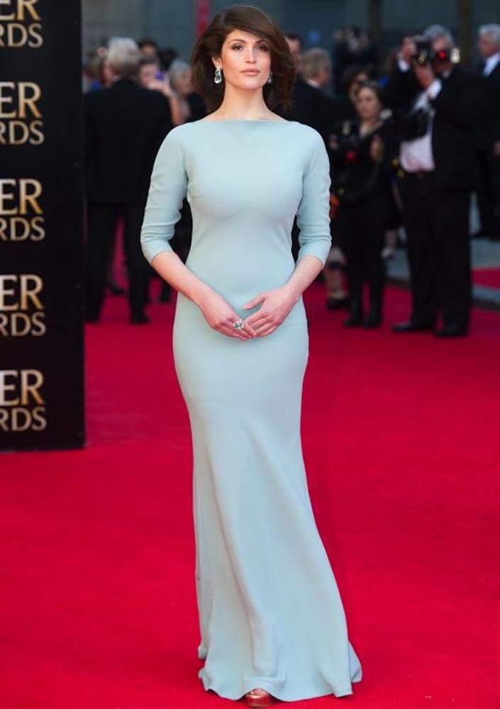 Gemma Arterton at the Laurence Olivier Awards 2014