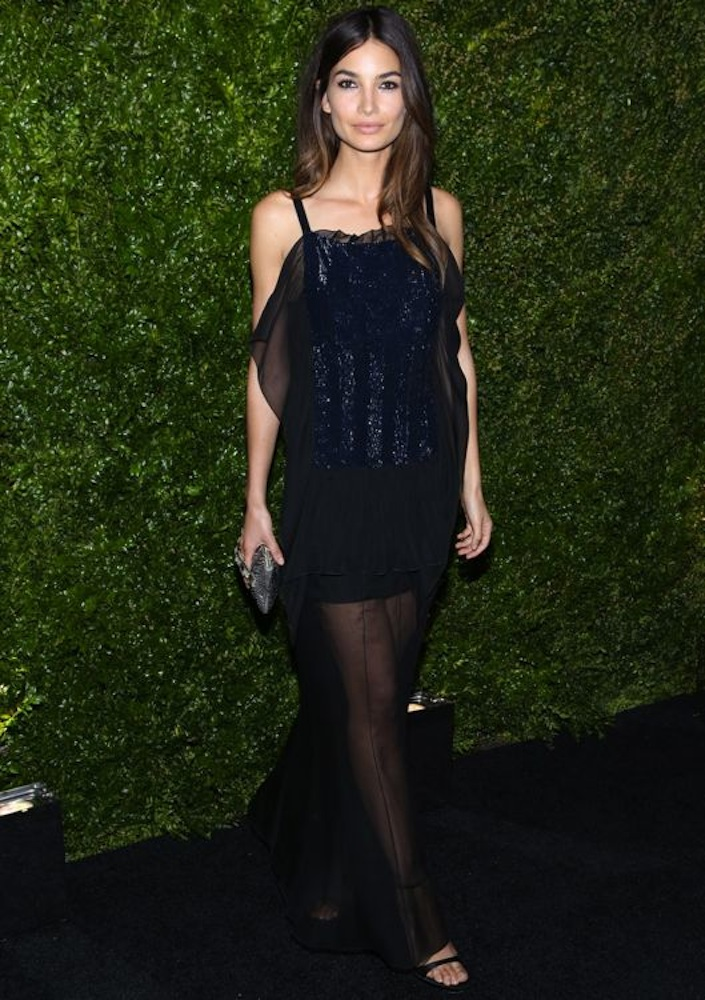 Lily Aldridge at the 9th Annual Chanel Artists Dinner