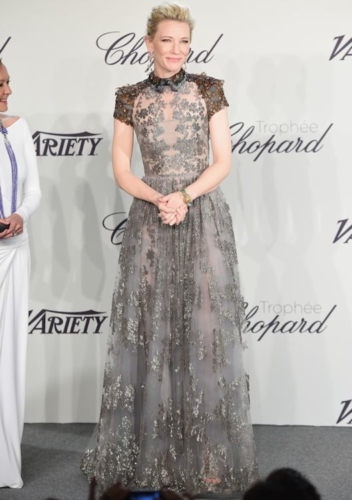 Cate Blanchett at the Trophée Chopard Event