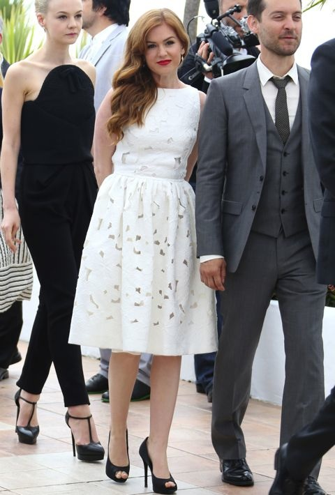 Isla Fisher at the 66th Annual Cannes International Film Festival Photocall for The Great Gatsby
