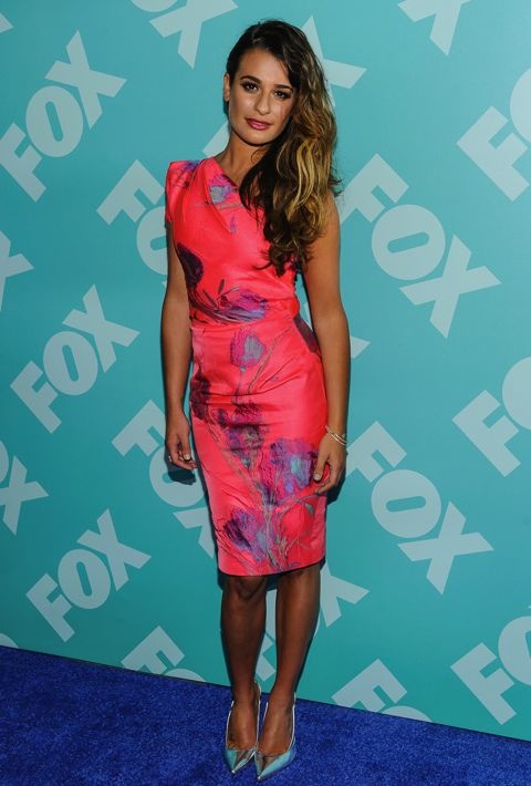 Lea Michele at the FOX 2013 Programming Presentation Post-Party