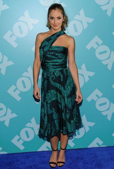 Minka Kelly at the FOX 2013 Programming Presentation Post-Party