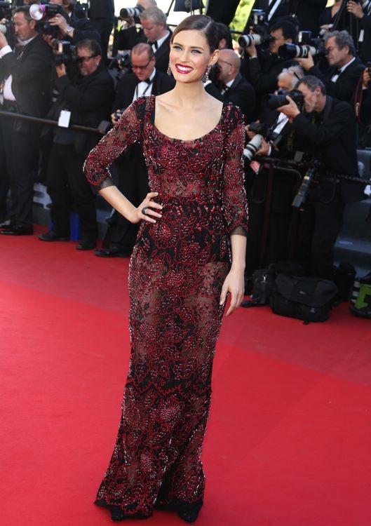 Bianca Balti at the 66th Annual Cannes International Film Festival Premiere of La Venus A La Fourrure