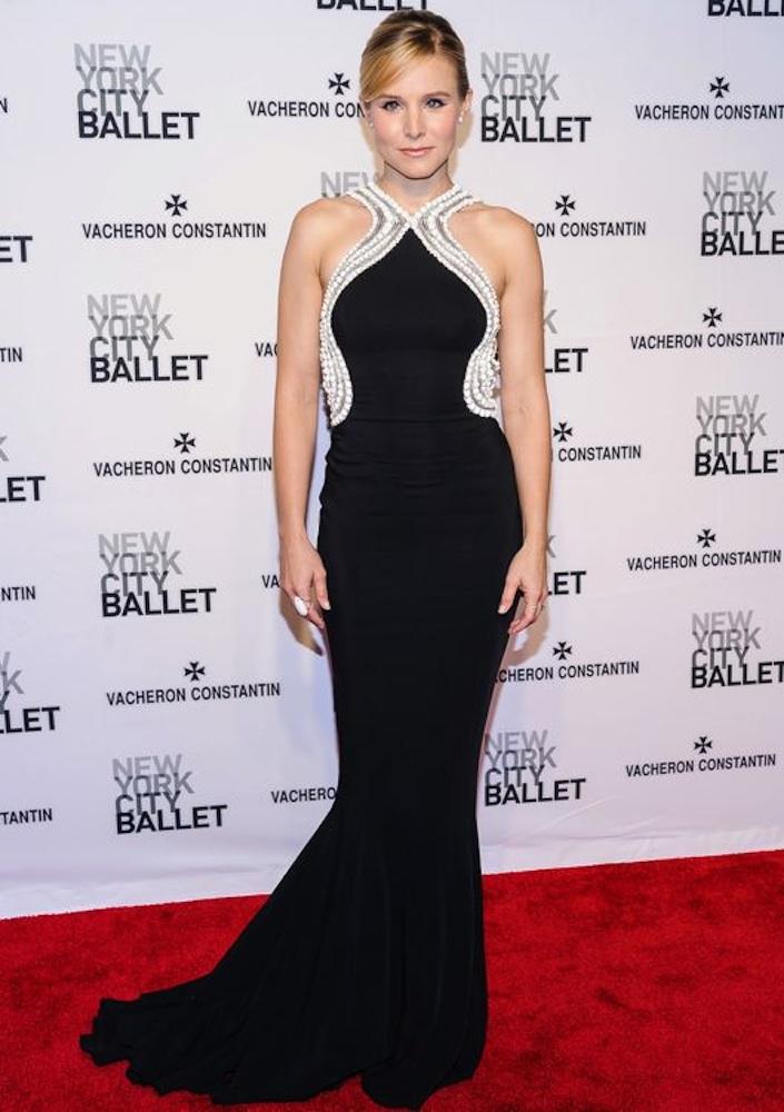 Kristen Bell at the New York City Ballet 2014 Spring Gala
