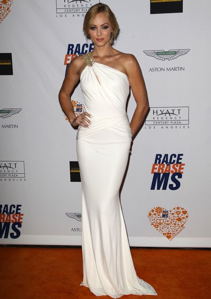 Laura Vandervoort at the 21st Annual Race to Erase MS Gala