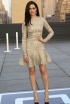 Emmy Rossum at the American Express and Uber Mobile Loyalty Program Launch