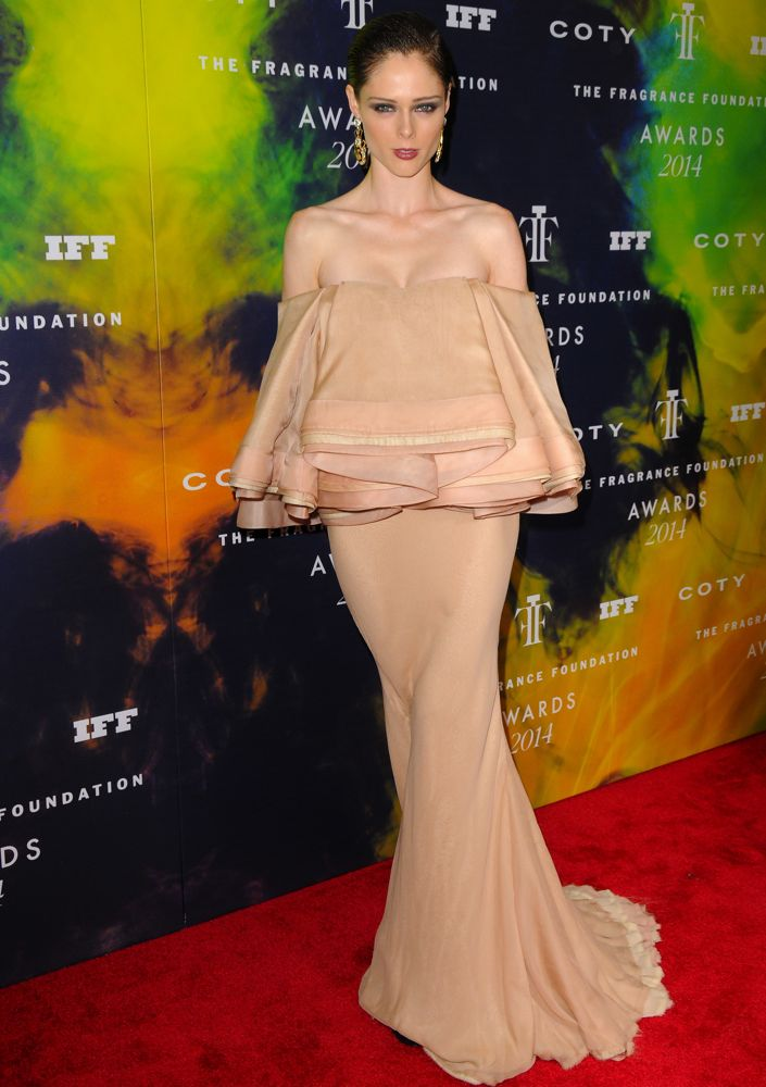 Coco Rocha at the 2014 Fragrance Foundation Awards
